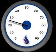 Hopkins propane gauge